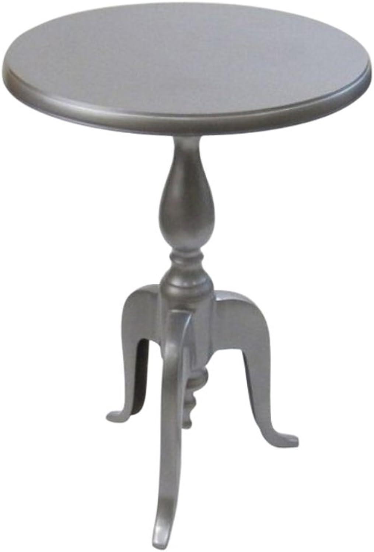 Aluminum Table Silver Finish - Nautical Decor