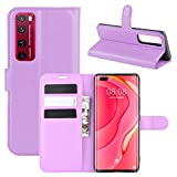 BEIJING ♋ PROTECTIVECOVER+ / pour Compatible with Huawei Nova 7 Pro 5G Litchi Texture Horizontal...