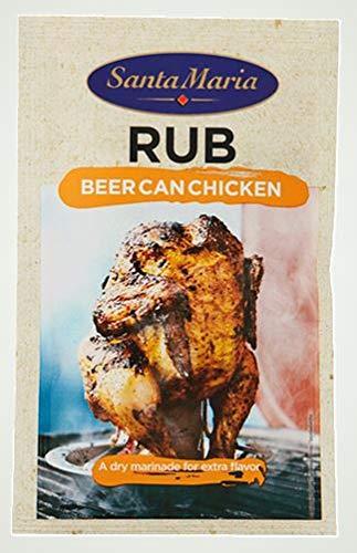 Santa Mar'a de la cerveza puede pollo condimento mezcla de especias, 30g