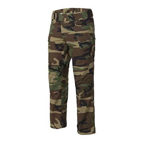 Helikon-Tex Hombre UTP Pantalones Polycotton Ripstop US Woodland tamaño 30W / 34L