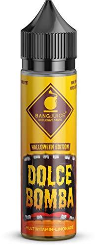 Dolce Bomba, Bang Juice 60 ml Longfill Aroma, Halloween Edition, limitiert, ohne Nikotin
