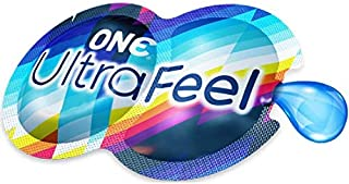 ONE Ultra Feel 2 in 1 Pack, Condoms & Lube Plus Brass Lunamax Pocket Case-24 Count