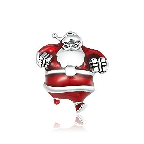 Mijn bedels Sterling Silver Charm Santa Claus