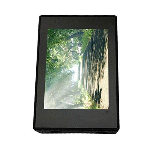 DAUERHAFT Exquisito en Mano de Obra Aprox. 21G Black 2.3 * 1.6 * 0.8In Reemplazo de Pantalla LCD, para cámaras de acción SJCAM SJ6 Legend