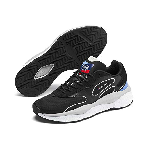 PUMA BMW M Motorsport Pure Sneaker P Black-Gray Violet-P Black UK 9.5_Adults_FR 44