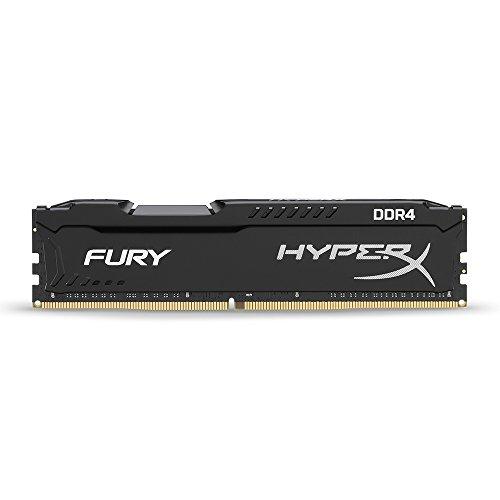 HyperX HX424C15FB/16 Fury Schwarz Arbeitsspeicher, DDR4, 16GB, 2400MHz, CL15, DIMM XMP