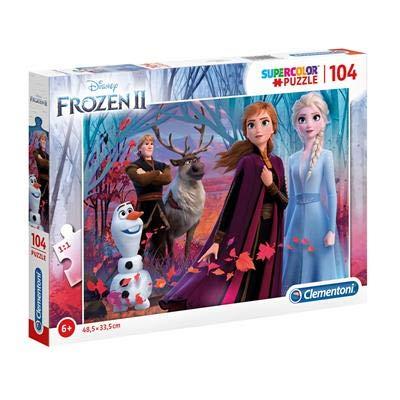 2747 ディズニー アナと雪の女王2 ジグソーパズル 104ピース  Disney Frozen2 Puzzle [並行輸入品]