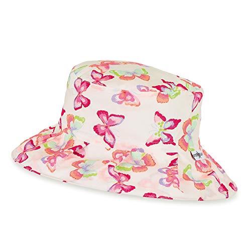 Sterntaler Zusammenfaltbarer Reif-Hut mit Pop-up Funktion, Alter: 2-4 Jahre, Größe: 53, Weiß