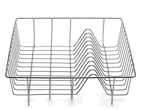 Weis Spülkorb, Edelstahl, Silber, 33 x 33 x 10 cm
