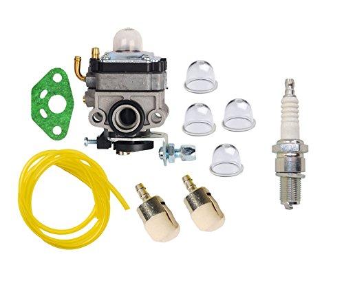OuyFilters Vergaser Carb Kit mit Primer Verstellbar Fuel Line Kraftstoff-Filter für Honda GX25gx25N gx25nt 592218Abschließbarer ersetzt 16100-z0h-825