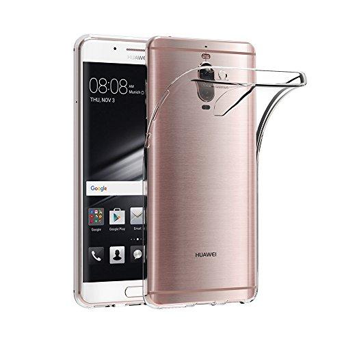AICEK Huawei Mate 9 Pro Hülle, Transparent Silikon Schutzhülle für Huawei Mate 9 Pro 5,5 Zoll Case Crystal Clear Durchsichtige TPU Bumper Huawei Mate 9 Pro Handyhülle