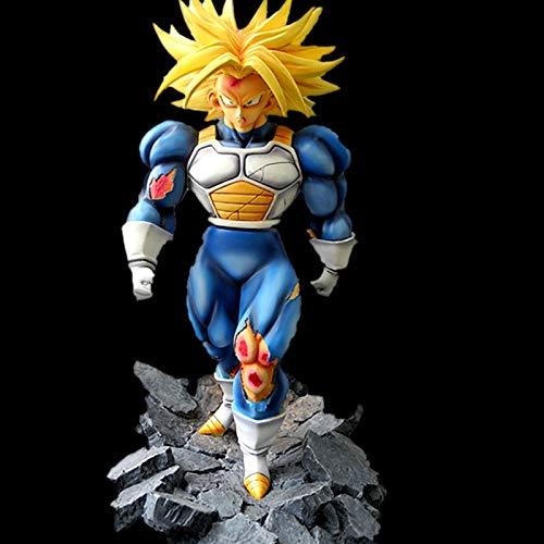 changshuo Modelo de Personaje Dragon Ball Gk Hijo De Vegeta Fuerte Daño De Batalla Super Saiyan Torankusu Estatua Resina Figura De Acción Colección Modelo Juguetes