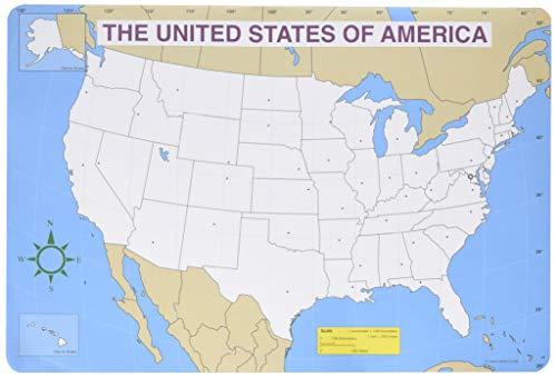 CD-3091 - Jumbo MAP PAD US Blank 30/PK
