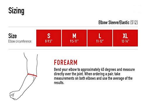 Mcdavid Elastic Elbow Support - Black, Size Xl
