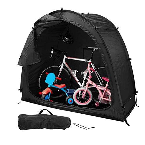 YUI Bicicleta Cobertizo para Bicicletas Tienda Campaña Cubierta de Almacenamiento Jardín para Bicicletas Alta Capacidad para Acampar al Aire Libre