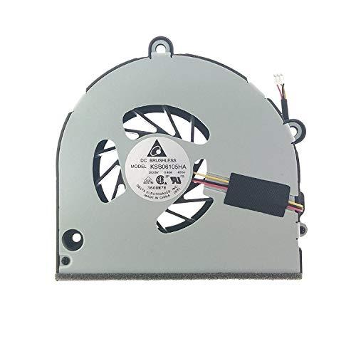 Up Parts® - Ventilador de marca y empresa italiana UP-FNT005 para Toshiba Satellite C660, C665, A660, A665, P750, K000111250, KSB06105HA