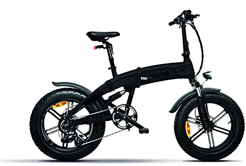 Icon.e - Bicicleta eléctrica Plegable iCross-X7 250 W Deep Black