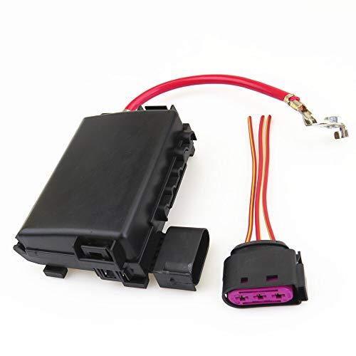 La batería del coche del fusible Asamblea Box + Enchufe el cable de alambre for Escarabajo Bora aptos for la FIT for el golf MK4 FIT for Jetta MK4 aptos for la Seat Leon 1J0937617D 1J0 937 773