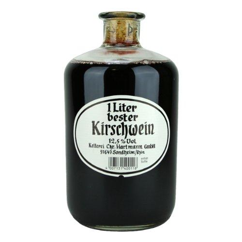 Christian Hartmann 1 Liter bester Kirschwein