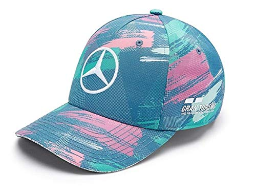 Mercedes AMG Petronas Lewis Hamilton Kids Barcelona 2019 Baseball Cap