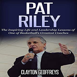 Pat Riley audiobook cover art