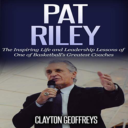 Pat Riley audiobook cover art