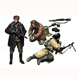 Resina Figura modelismo, 1:35 WWII Guerrilla soviética (3 Soldados) Kit de Modelo en Miniatura sin Pintar sin Montar