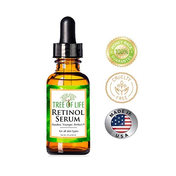 Anti aging products Retinol Serum for Face and Skin, DOUBLE SIZE (2oz) Anti Aging Serum, Clinical Strength