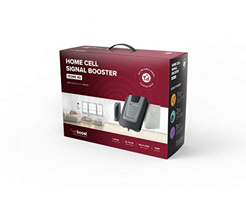 weBoost Home 4G Cell Phone Signal Booster for Home and Office – Enhance Your Signal up to 32x. Can...