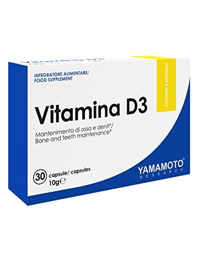 Yamamoto Research Vitamina D3 30 Capsule - 10 Gr