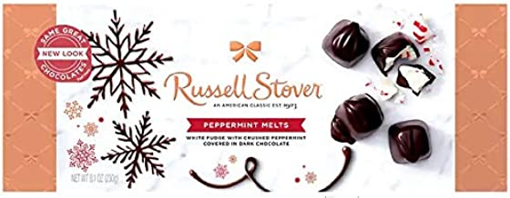 Russell Stover Dark Chocolate Peppermint Melts 8.1oz