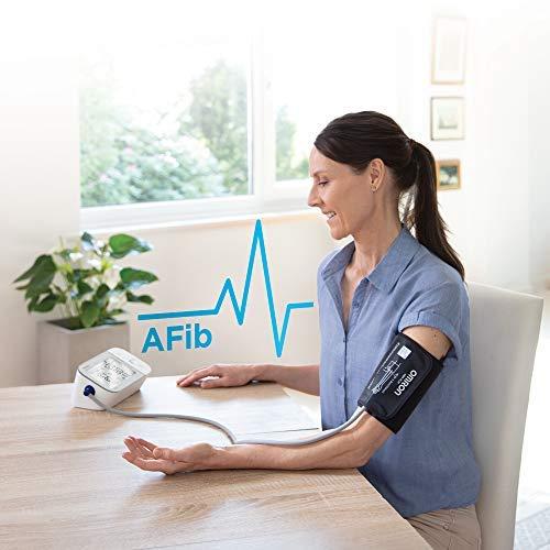 OMRON X7 Smart Tensiomètre Bras, Détecte les risques de fibrillation auriculaire (AFib) , Bluetooth, Technologie Brassard Intelli Wrap