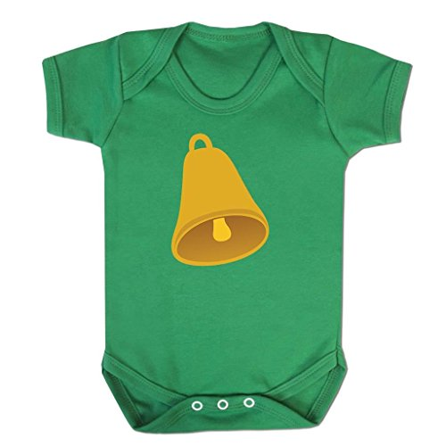 Funny Baby Grows Cute Baby Clothes for Baby Boy Baby Girl Bodysuit Vest Bell Emoticon