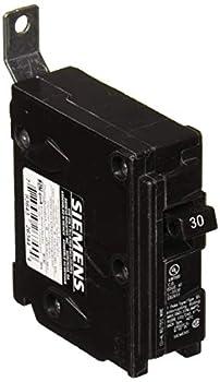 Siemens B130 30-Amp Single Pole 120-Volt 10KAIC Bolt in Breaker Black