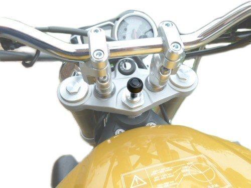 Ultimateaddons 15 mm - 17 mm Motorrad Gabel Vorbau Befestigung Verwendung mit Tomtom Rider 2 (SKU 10323)