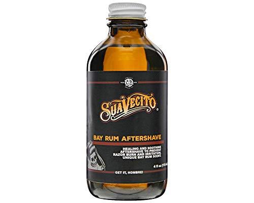 Suavecito Bay Rum Aftershave, 4 oz