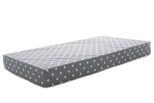 "Milliard Crib Mattress and Toddler Bed Mattress | Hypoallergenic + Waterproof Encasement | 27.5""x52""x5"""