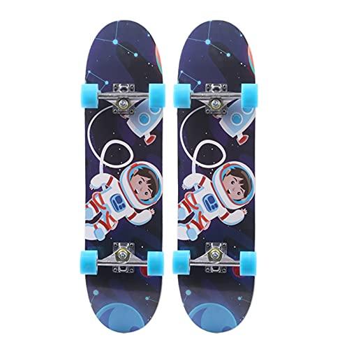 Skateboard Grip Tape Skateboards,80CM Skateboards for Adults U Teenagers,Maple Cruiser Skate Board, Including Truck, PU Wheels, Back Pattern for Skateboard,Rollerboard,Scooter ect