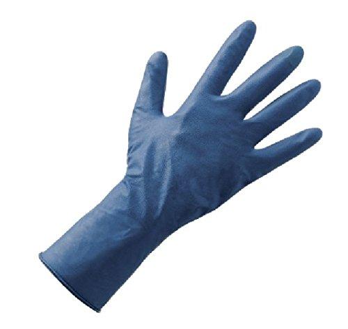 50Handschuhe blau doppelt Latex lösungsmittelbeständig hoch Dicke TG.10/XXL