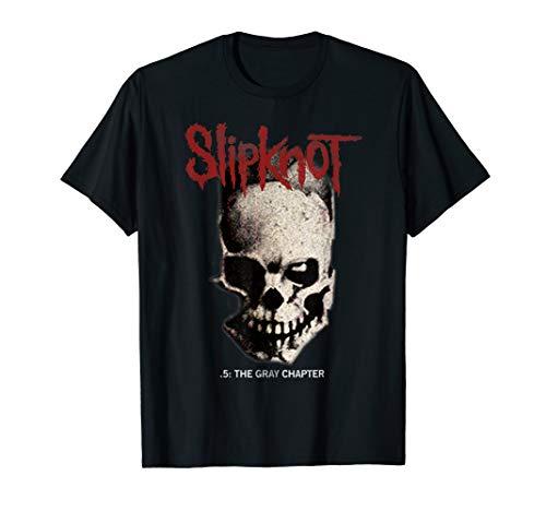 Slipknot .5 The Gray Chapter Skull T-Shirt T-Shirt