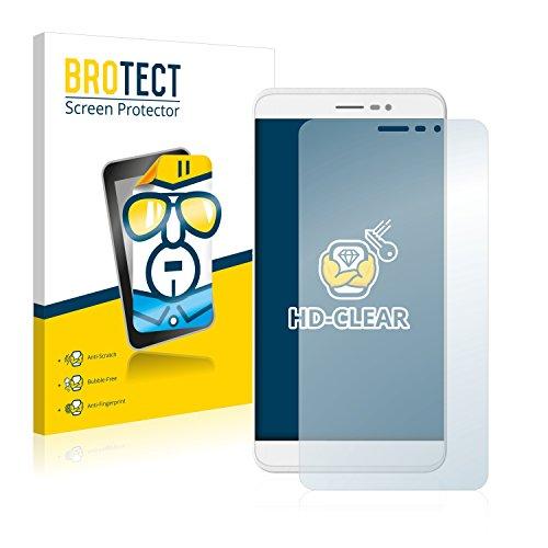 BROTECT Schutzfolie kompatibel mit Coolpad Porto S (2 Stück) klare Bildschirmschutz-Folie