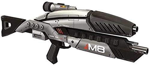 Mass Effect 2 M8 Avenger Rifle 1:1 Scale 3D Paper Model Cosplay Kits Guns Weapons Paper Models Handmade Toys Gifts For Adults, Medium Difficulty