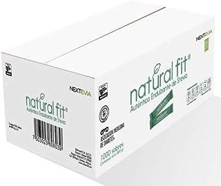 Natural Fit, Auténtico Endulzante de Stevia de 1000 sobres