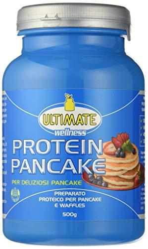 Preparato Per Pancake Proteici - Preparato Per Pancake E Waffles - Con Il 40% Di Proteine Da 5 Fonti (latte, Riso, Soia, Albume, Caseine) – Low Sugar (4%) - Senza Glutine. - Ultimate Italia