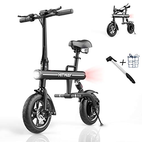 SOUTHERN WOLF Bicicleta eléctrica Bicicleta eléctrica Plegable para Adultos, Scooter eléctrico 250W...