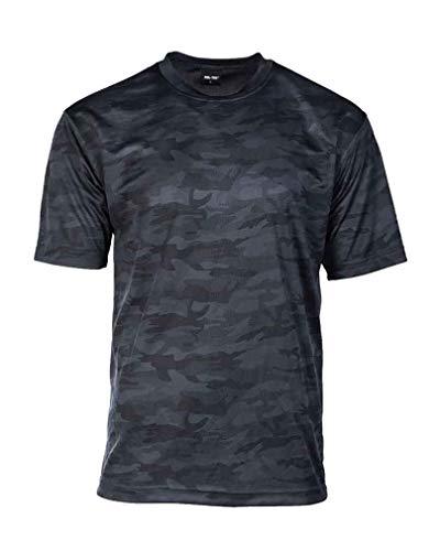 Mil-Tec T-Shirt Mesh Dark camo Gr.M