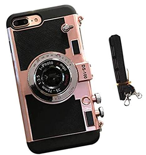 Neue Emily In Paris Telefon Fall Vintage Kamera, Für iPhone 11/12 PRO MAX Für iPhone 6/6S Roségold