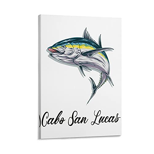 Ca-bo San Lucas Mexico22 Painting Canvas Wall Art Picture for Living Room Bathroom Poster Home Decor 08×12inch(20×30cm) Ready to Hang Hang Pictures Office Wall Artworks
