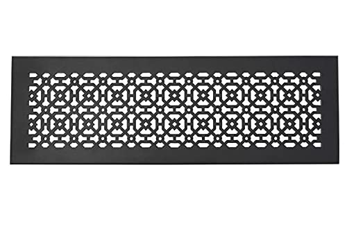 """Achteck 6""""x 28"""" Duct opening Solid Cast Aluminum Air Return Grill Vent Cover 
