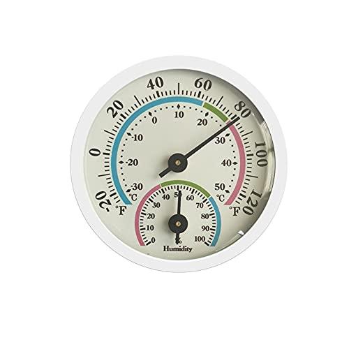 Rpanle Termometro Igrometro, Igrometro Analogico, Alta Precisione, Facile da Leggere, Indicazione Clima Ideale